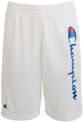 Champion Big Boys Script Logo Mesh Shorts
