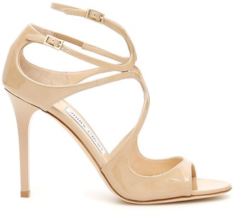 Jimmy Choo Patent Lang Sandals