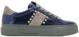 Kennel + Schmenger Studded Lace-Up Sneakers