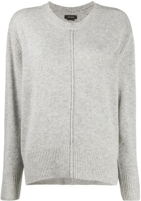 Isabel Marant Knitted Crew Neck Jumper