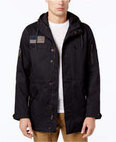 American Rag Men's Mixed Media Patch Parka, Created for Macy's