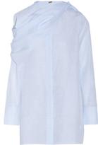 ADAM by Adam Lippes Cotton and linen-blend shirt