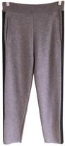 Woolrich Grey Wool Trousers for Women