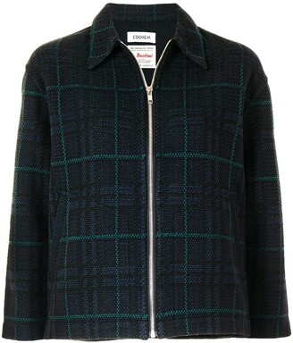 Coohem Tartan Check Tweed Jacket