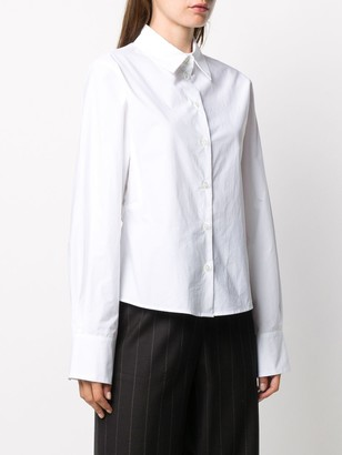 Odeeh Pleat-Back Poplin Shirt