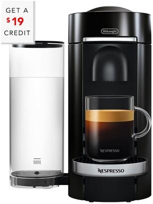 De'Longhi Delonghi Nespresso Vertuo Plus Coffee & Espresso Single Serve Machine & Aeroccino Milk Frother