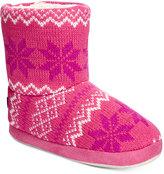 Stride Rite Fair Isle Knit Slipper Boots, Toddler Girls (2T-5T) & Little Girls (2-6X)