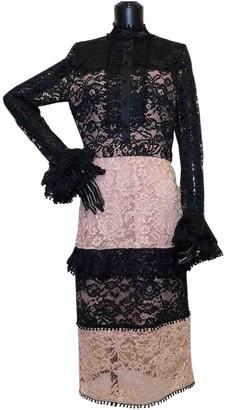 Alexis \N Beige Polyester Dresses