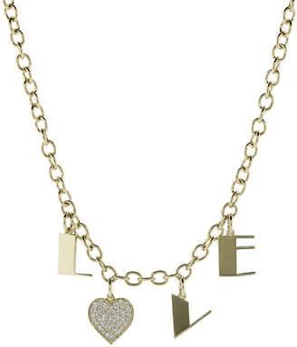 Sydney Evan Love Charm Necklace