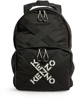 Kenzo Sport Cross Logo Backpack