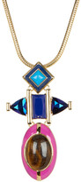 Trina Turk Triple Drop Pendant Necklace