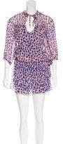 Diane von Furstenberg New Desma Silk Dress