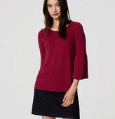 LOFT Trumpet Sleeve Sweater