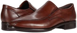 Ecco Citytray Bike Toe Slip-On (Black) Men's Shoes
