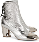 Proenza Schouler Silver Sorentino Ankle Boots
