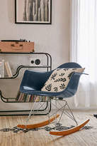 Modernica Fiberglass Arm Shell Rocking Chair
