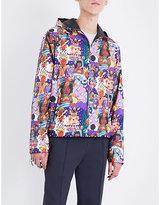 Bally x Swizz printed shell windbreaker jacket