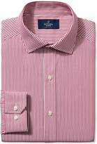 Buttoned Down Men's Non-Iron Fitted Spread Collar Dress Shirt