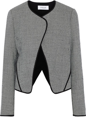 Derek Lam 10 Crosby Houndstooth Wool-blend Blazer