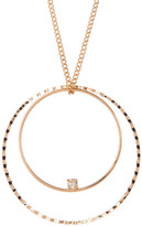 Stephan & Co Circle Geo Pendant Necklace