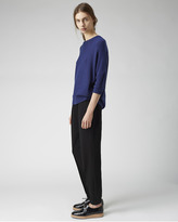 Organic by John Patrick slim sleeve pullover