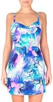 Amanda Uprichard Watercolor Manhattan Dress
