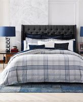 Tommy Hilfiger Carraway Plaid Full/Queen Duvet Set