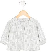 Petit Bateau Girls' Striped Flare Top