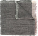 Brunello Cucinelli frayed scarf - men - Linen/Flax - One Size