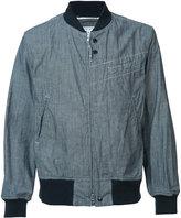 Engineered Garments zipped bomber jacket