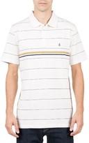 Volcom Men's Wowzer Stripe Jacquard Polo