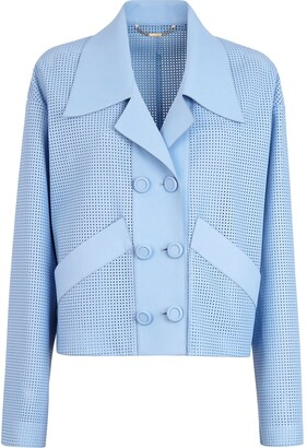 Fendi Oversized Perforated Jacket