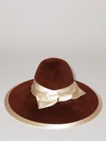 Gucci Rust Rabbit Felt Hat