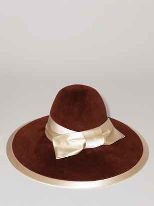 Gucci Rust Rabbit Felt Hat