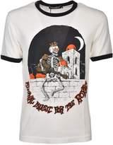 Dolce & Gabbana Royal Skeleton Print T-shirt