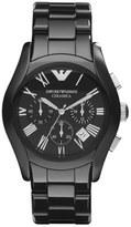 Emporio Armani Large Ceramic Chronograph Watch, 42mm