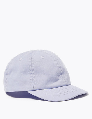 Marks and Spencer Kids' Pure Cotton Baseball Cap (1-6 Yrs)