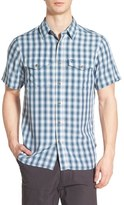 Fjäll Räven 'Abisko Cool' Regular Fit Plaid Sport Shirt
