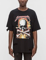 Mastermind Japan Distressed Mastermind Graphic S/S T-Shirt (Ver. 1)