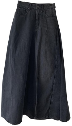 Y/Project Grey Denim - Jeans Skirts