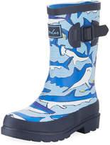 Joules Shark Rubber Rain Boot, Toddler/Kid