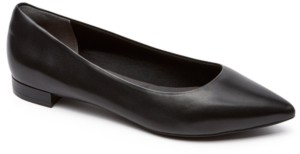 Rockport Women's Total Motion Adelyn Pointed-Toe Ballet Flats Women's Shoes