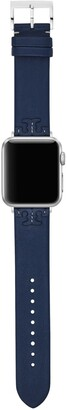 Tory Burch McGraw Band for Apple Watch, Navy Leather, 38 MM 40 MM