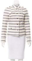 Tory Burch Stripe Casual Jacket