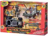 Bed Bath & Beyond The Corps Tactical Pursuits Playset with Helicopter