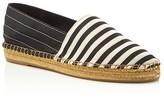 Marc Jacobs Sienna Striped Espadrille Flats