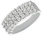 Morris & David Diamond, 1.5 TCW and 14K White Gold Ring