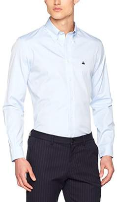Brooks Brothers Men's 1000153 Shirt, (Light/Pastel Blue 455)