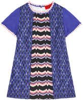 Missoni Zigzag wool blend dress
