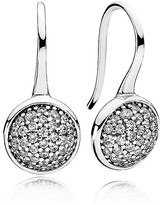 Pandora Earrings - Sterling Silver & Cubic Zirconia Dazzling Drop